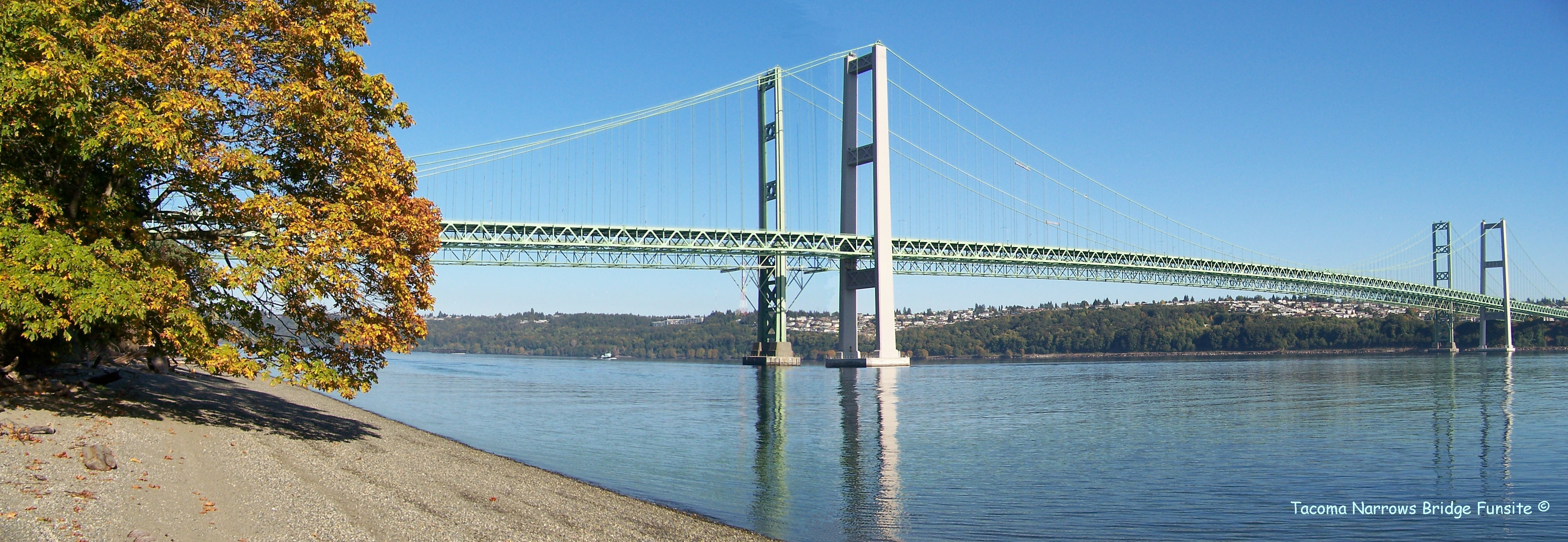 pm roolls tacoma narrows bridge